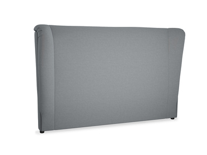 Superking Hugger Headboard in Dusk vintage linen