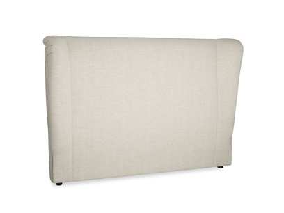 Hugger winged back headboard