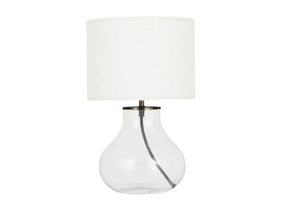 Bessy Table Lamp with Natural Hessian shade