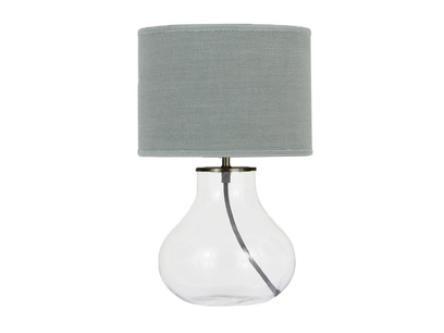 Bessy Table Lamp with Sea Salt shade