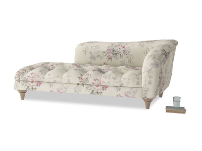 Right Hand Slumber Jack Chaise Longue in Pink vintage rose