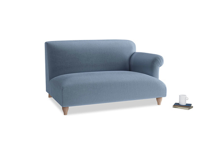 Soufflé Two Seater in Winter Sky clever velvet