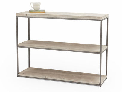 Nosy Parker parquet console table