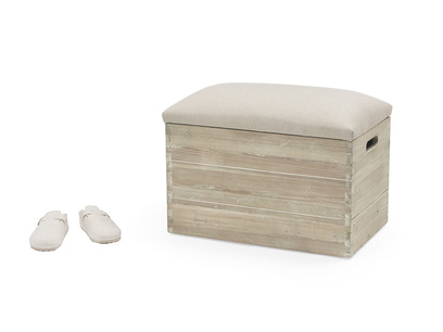 Lugger storage stool