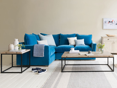 Pavilion contemporary corner sofa