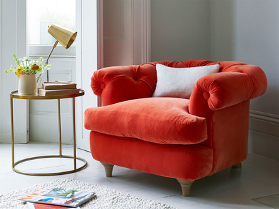 Small chesterfield style Swaggamuffin armchair