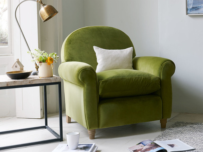 Occasional small bedroom very comfy Club chair