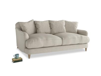 Medium Achilles Sofa in Thatch house fabric