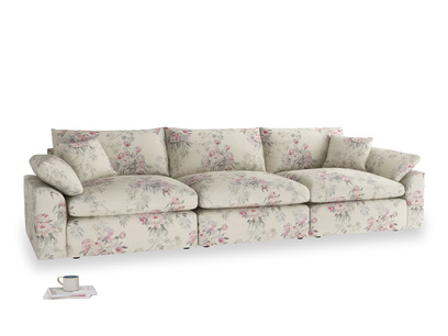 Large Cuddlemuffin Modular sofa in Pink vintage rose