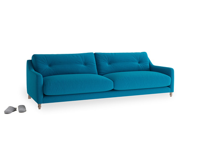 Large Slim Jim Sofa in Bermuda Brushed Cotton