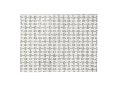 Small Waves In Grey rug
