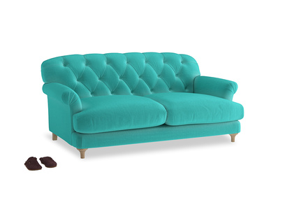 Medium Truffle Sofa in Fiji Clever Velvet