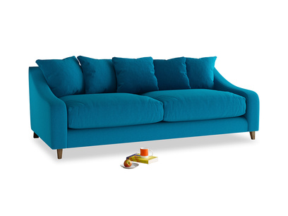 Large Oscar Sofa in Bermuda Brushed Cotton