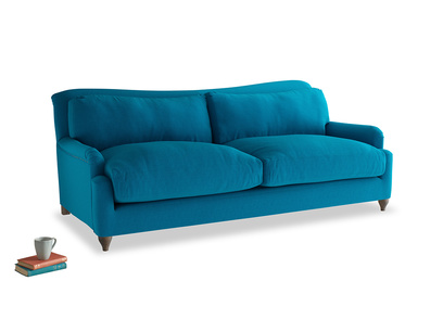 Large Pavlova Sofa in Bermuda Brushed Cotton