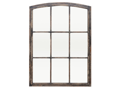 Kempton window pane mirror