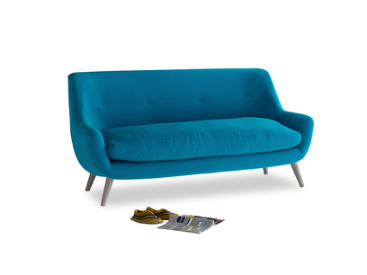 Medium Berlin Sofa in Bermuda Brushed Cotton