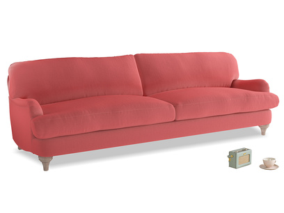 Extra large Jonesy Sofa in Carnival Clever Deep Velvet