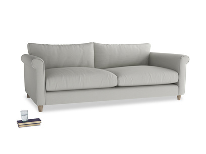 Extra large Weekender Sofa in Mineral grey clever linen