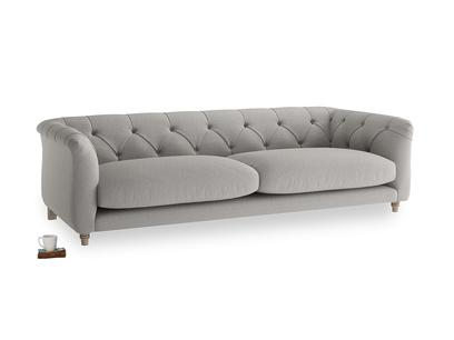 Large Boho Sofa in Wolf brushed cotton