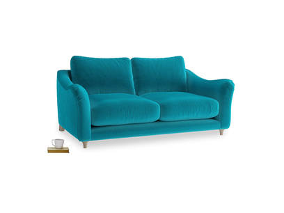 Medium Bumpster Sofa in Pacific Clever Velvet