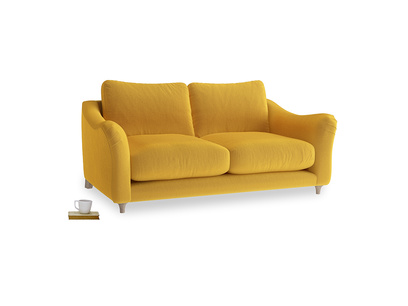 Medium Bumpster Sofa in Pollen Clever Deep Velvet