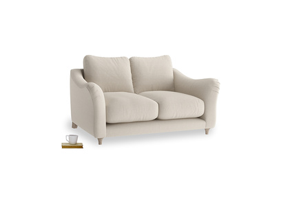 Small Bumpster Sofa in Buff Brushed Cotton