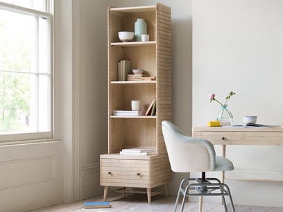 Little Bubba wooden modular shelving unit