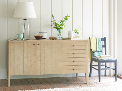 Grand Kanoodle wooden oak sideboard