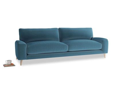 Large Strudel Sofa in Old blue Clever Deep Velvet