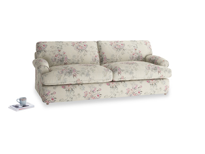 Large Slowcoach Sofa Bed in Pink vintage rose