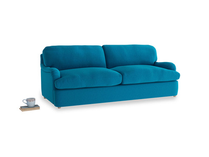 Large Jonesy Sofa Bed in Bermuda Brushed Cotton