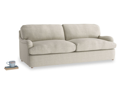 Large Jonesy Sofa Bed in Thatch house fabric