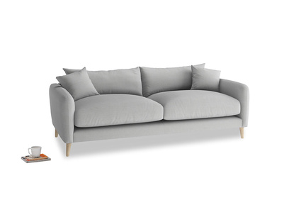 Medium Squishmeister Sofa in Pewter Clever Softie