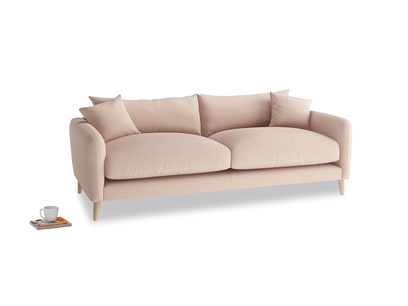 Medium Squishmeister Sofa in Pink clay Clever Softie