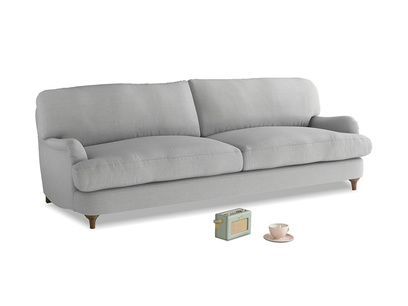Large Jonesy Sofa in Pewter Clever Softie