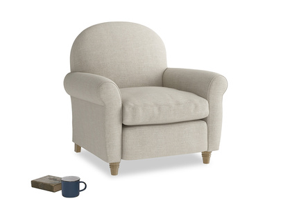 Small club occasional armchair
