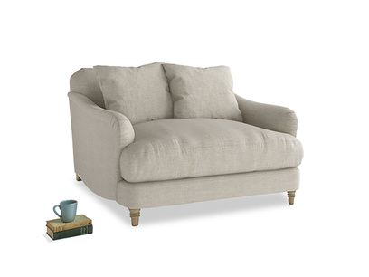 Beautiful British made Achilles snuggler sofa and love seat