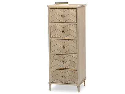 Tall Flapper tall boy dresser