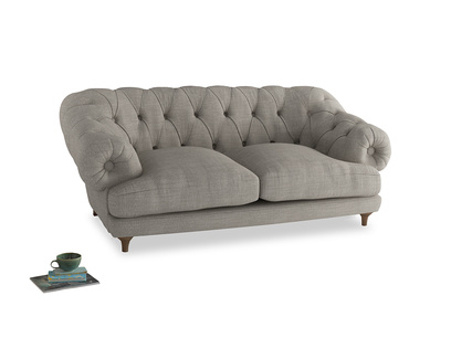 Medium Bagsie Sofa in Grey Daybreak Clever Laundered Linen