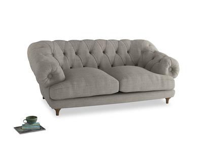 Medium Bagsie Sofa in Grey Daybreak Clever Laundered Linen