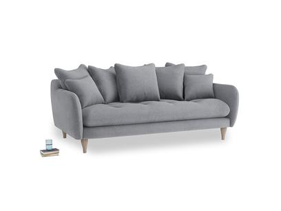 Large Skinny Minny Sofa in Dove grey wool