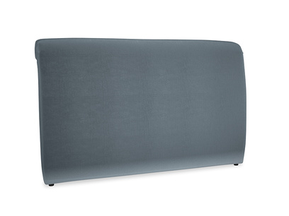 Superking Dumpling Headboard in Odyssey Clever Deep Velvet