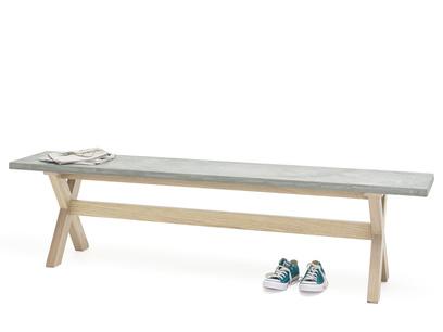 Industrial British made Budge concrete kitchen bench