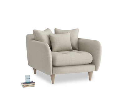 Thatch House Fabric Skinny Minny Armchair