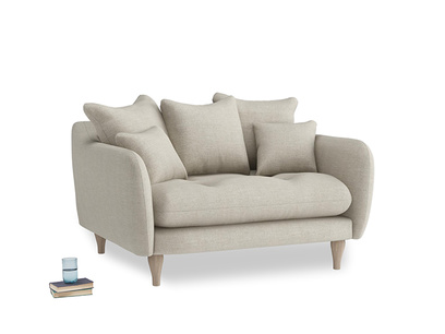 Thatch House Fabric Skinny Minny Loveseat