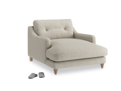 Thatch House Fabric Slim Jim Love Seat Chaise