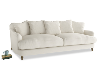 Large Achilles Sofa in Chalky White Clever Softie