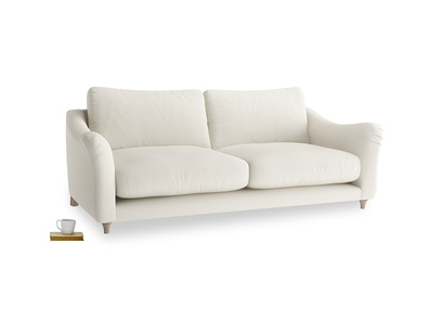 Large Bumpster Sofa in Chalky White Clever Softie