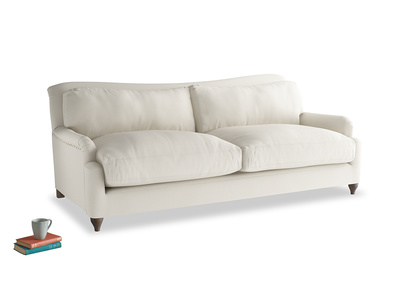 Large Pavlova Sofa in Chalky White Clever Softie