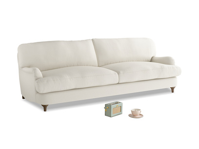 Large Jonesy Sofa in Chalky White Clever Softie